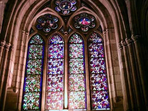 Vidrieras de la Catedral de Astorga. - Se abre en una nueva ventana