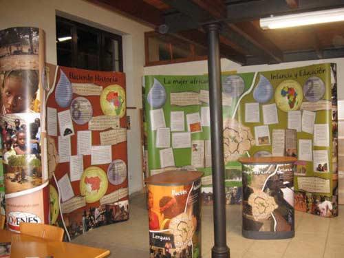 Exposición sobre el continente africano. - Se abre en una nueva ventana
