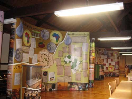Exposición referente al continente africano. - Se abre en una nueva ventana