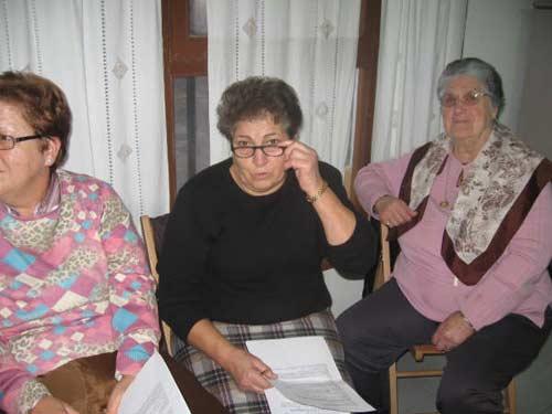Mujeres participantes del taller. - Se abre en una nueva ventana