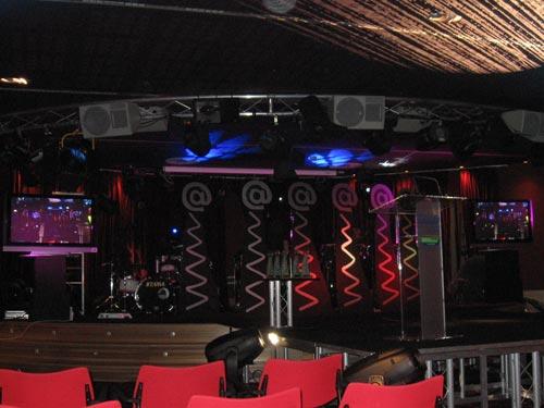 Escenario de la III Gala de los Premios Sociedad de la Información en la Sala Acapulco del Casino de Gijón - Se abre en una nueva ventana