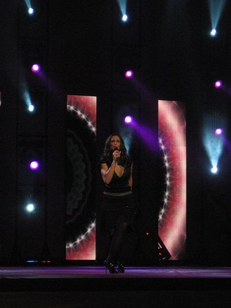 la cantante Nuria Fergo - Se abre en una nueva ventana