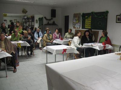 Asistentes al taller de reposteria - Se abre en una nueva ventana