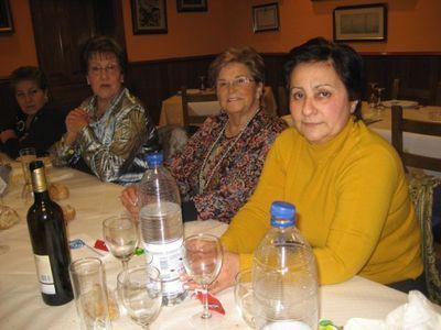 Asistentes a la cena navidad 2009 - Se abre en una nueva ventana