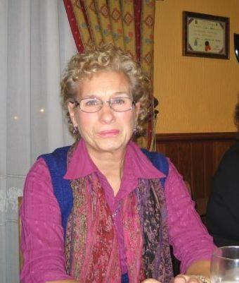 Socia asistente a la cena de navidad 2009 - Se abre en una nueva ventana