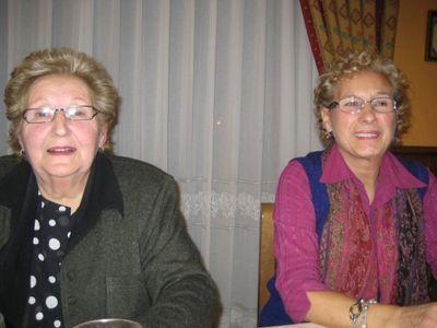Socias asistentes a la cena de navidad 2009 - Se abre en una nueva ventana