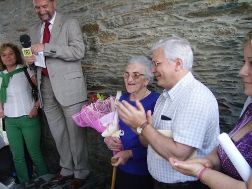 Un pequeño homenaje a Trina la mujer con mas edad del Pueblo - Se abre en una nueva ventana